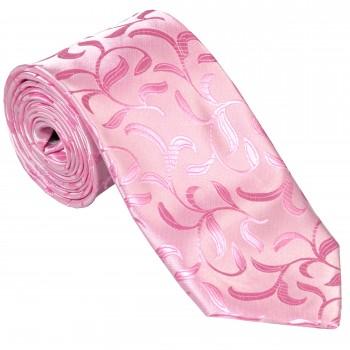 Pink Vintage Vine Wedding Tie #AB-T1004/4