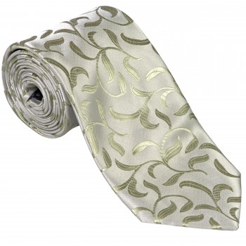Emerald Green Vintage Vine Wedding Tie #AB-T1004/6