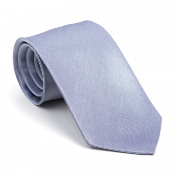 Mid Silver Shantung Tie #AB-T1005/6