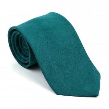 Bottle Green Suede Tie #AB-T1006/16