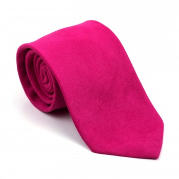 Rose Red Suede Tie #AB-T1006/5