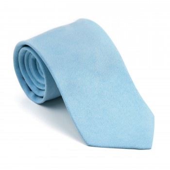 Dream Blue Suede Tie #AB-T1006/7