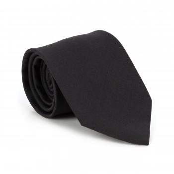 Black 100% Wool Tuxedo Tie