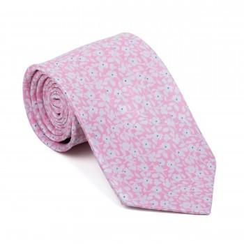 Pink Ditsy Floral Tie