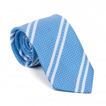Baby Blue Pastel Stripe Tie