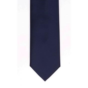 Navy Fine Twill Tie #T102/3