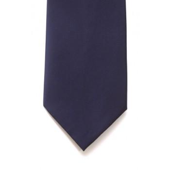 Navy Satin Tie #T1847/3