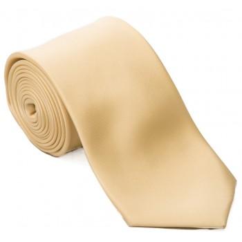 Yellow Satin Tie #T1849/3
