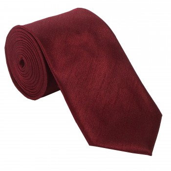 Wine Shantung Wedding Tie #T1864/4