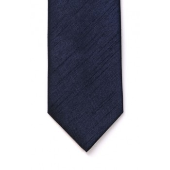 Navy Shantung Wedding Tie #T1864/3