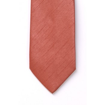 Salmon Shantung Wedding Tie #T1865/4