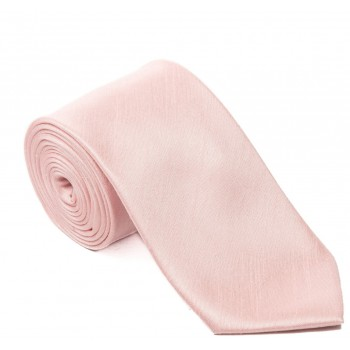 Pink Boys Shantung Wedding Tie #Y1866/3
