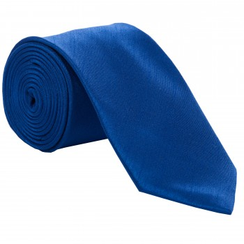 Royal Blue Slim Shantung Wedding Tie #C1867A/4
