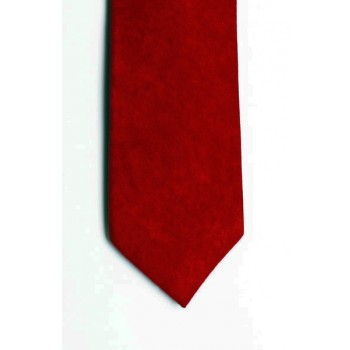 Red Suede Effect Tie #T1869/8
