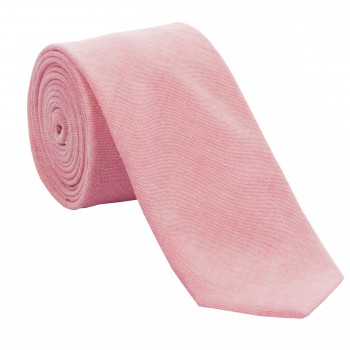 Pink Chambray Tie #T1881/2 ---DISCONTINUED, LAST STOCK!---