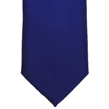 French Navy Satin Tie #T1883/4