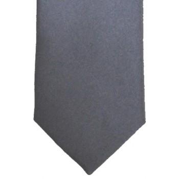 Grey Satin Tie #T1884/3
