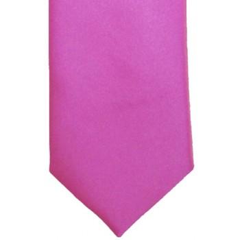 Lipstick Pink Satin Tie #T1886/3