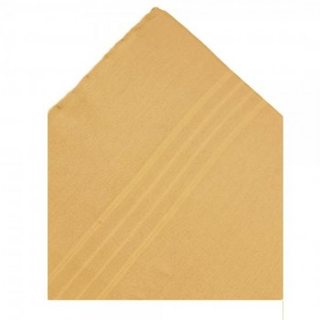 Beige Silk Pocket Square #TPH01A/2