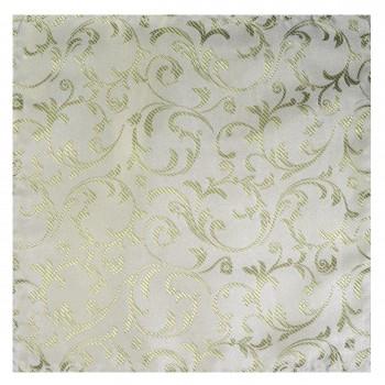 Emerald Green Swirl Leaf Wedding Pocket Square #AB-TPH1000/12