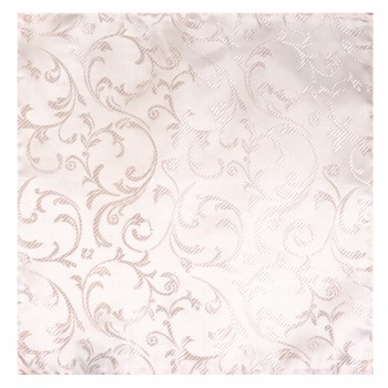 Champagne Swirl Leaf Wedding Pocket Square #AB-TPH1000/13