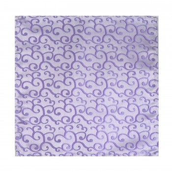 Lilac Royal Swirl Wedding Pocket Square #AB-TPH1001/1