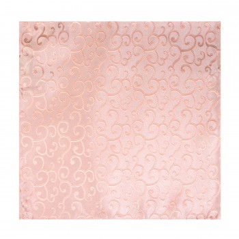 Peach Royal Swirl Wedding Pocket Square #AB-TPH1001/2