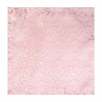 Light Pink Royal Swirl Wedding Pocket Square #AB-TPH1001/3
