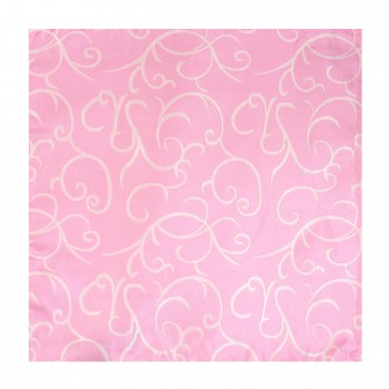 Light Pink Modern Scroll Wedding Pocket Square #AB-TPH1002/3