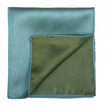 Fog Green Shantung Pocket Square #AB-TPH1005/11