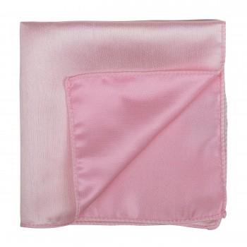 Petal Pink Shantung Pocket Square #AB-TPH1005/13