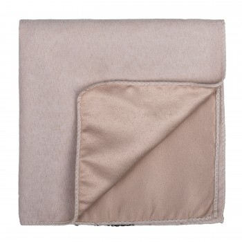 Mellow Buff Suede Pocket Square #AB-TPH1006/2