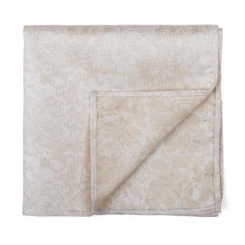 Cloud Cream Floral Pocket Square #AB-TPH1012/2