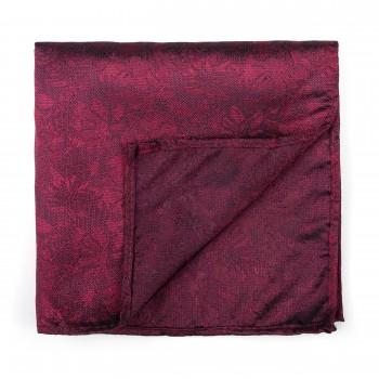 Ruby Wine Floral Pocket Square #AB-TPH1012/6