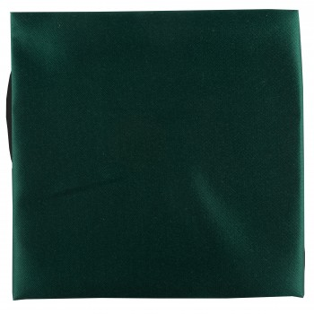 Bottle Green Satin Pocket Square #TPH1863/2