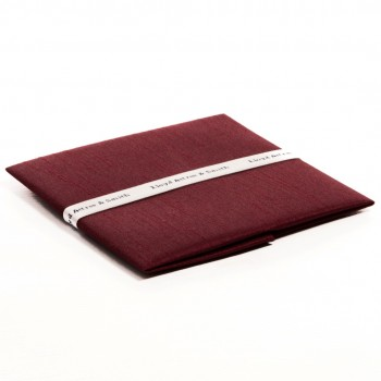 Wine Shantung Pocket Square #TPH1864/4