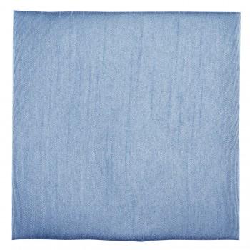 Sky Blue Shantung Pocket Square #TPH1866/6