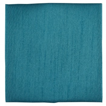 Teal Blue Shantung Pocket Square #TPH1867/2