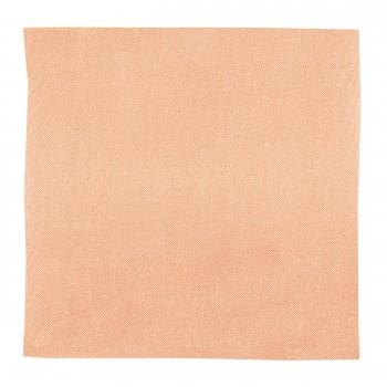 Peach Shantung Pocket Square #TPH1867A/1