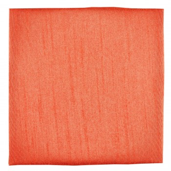 Coral Shantung Pocket Square #TPH1867A/5