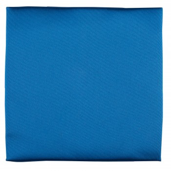 Royal Blue Satin Pocket Square #TPH1883/3