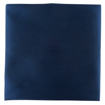 French Navy Satin Pocket Square #TPH1883/4