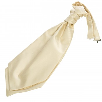 Ivory Twill Wedding Cravat #WCR100/3
