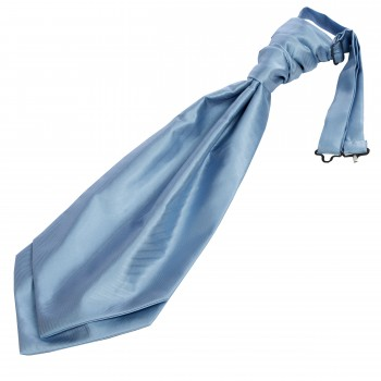 Blue Twill Wedding Cravat #WCR101/4
