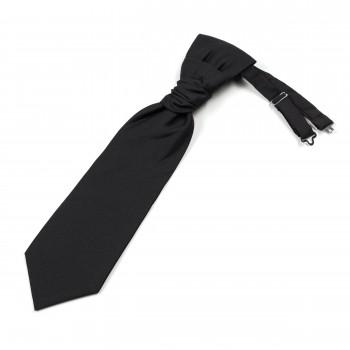 Black 100% Wool Tuxedo Cravat