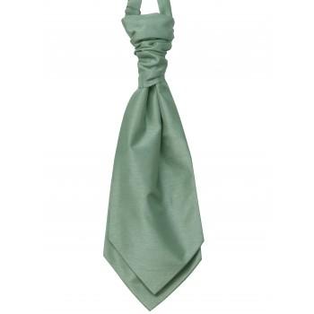 Sage Shantung Wedding Wedding Cravat #WCR1866/1