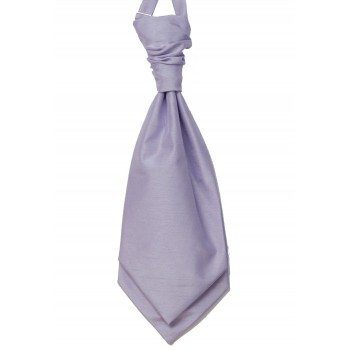 Lilac Shantung Wedding Wedding Cravat #WCR1866/4