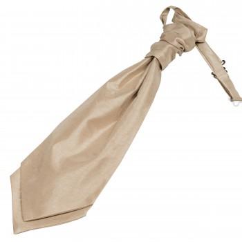 Champagne Shantung Wedding Wedding Cravat #WCR1866/5