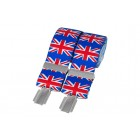 Multi Colour Union Jack Braces #BR-021