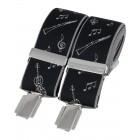 Black Musical Instruments Braces #BR-047